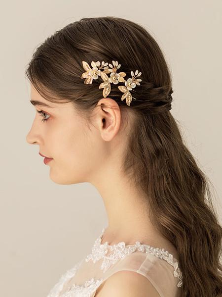 Milanoo Wedding Headpieces AccessoryHeadwear Metal Hair Accessories For Bride