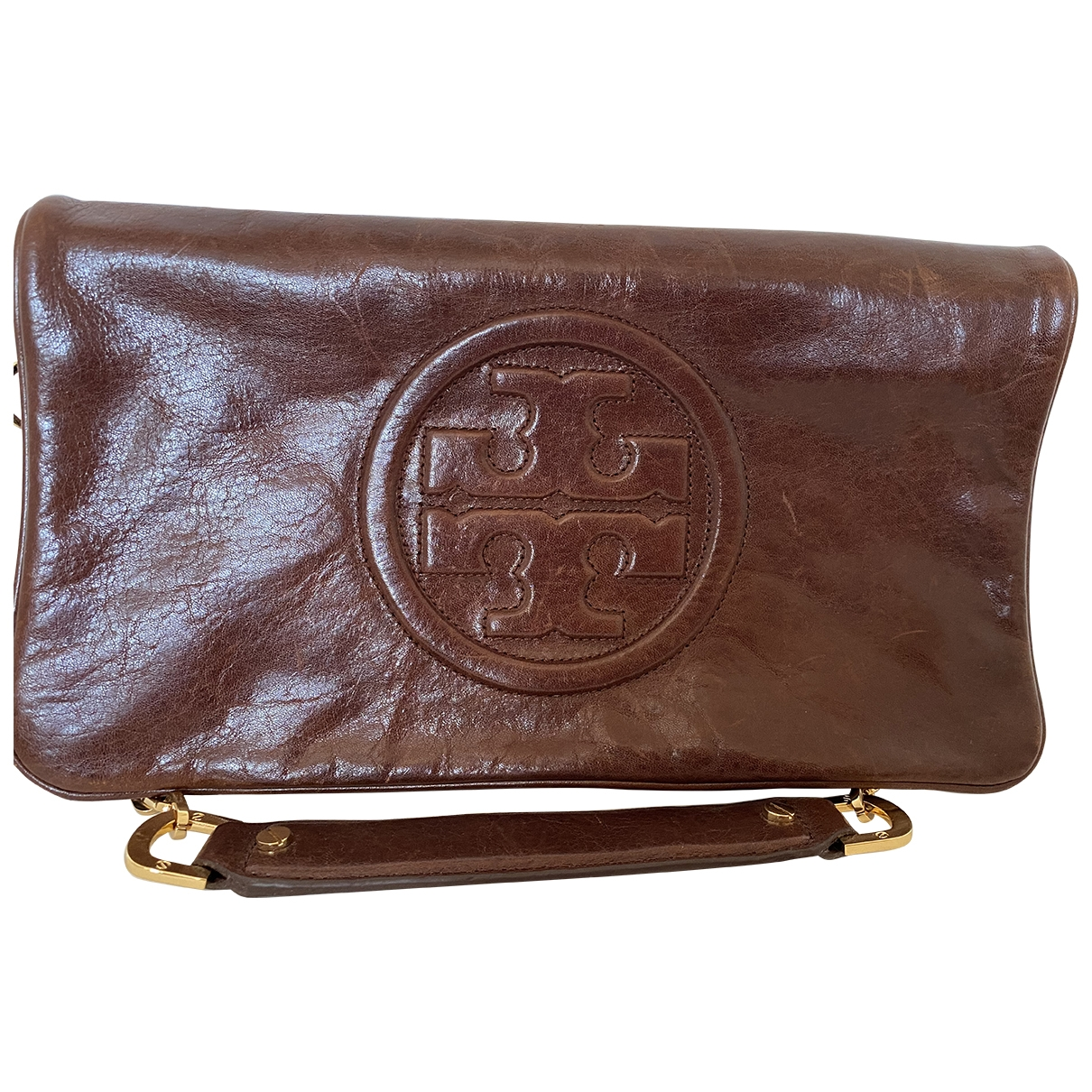 Tory Burch \N Brown Leather Purses, wallet & cases for Women \N
