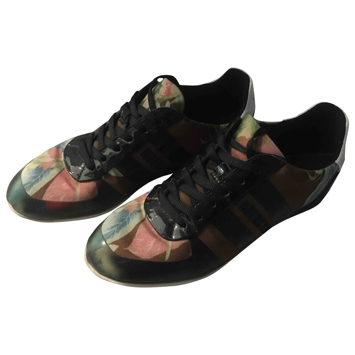 Dirk Bikkembergs \N Multicolour Cloth Trainers for Women 36 EU