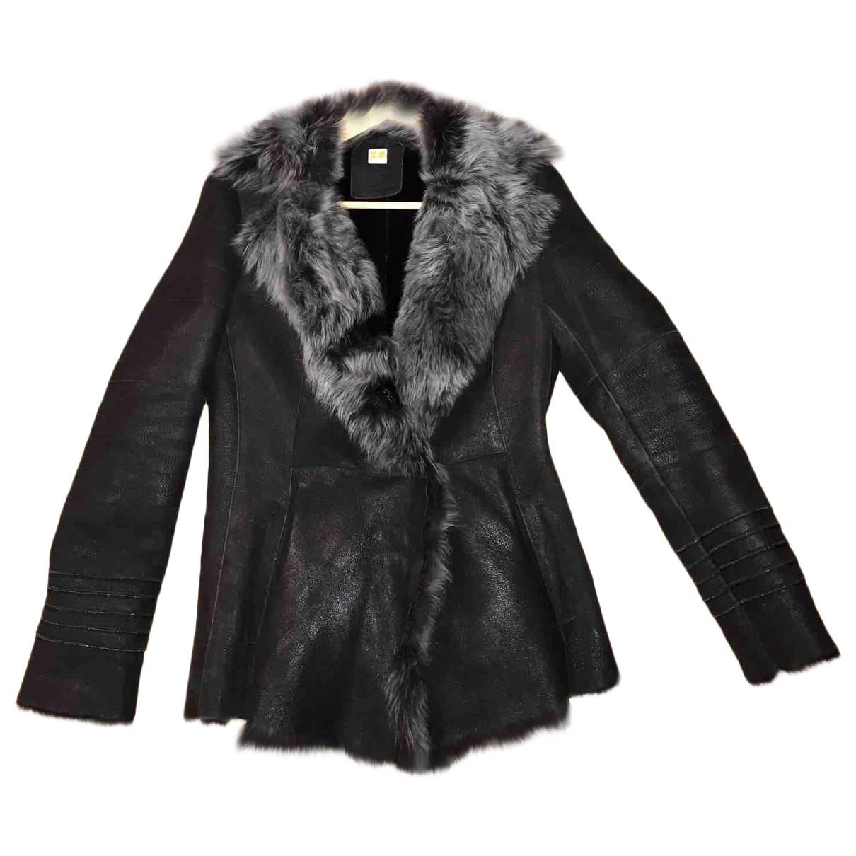 Boss Orange \N Brown Leather jacket for Women 40 FR