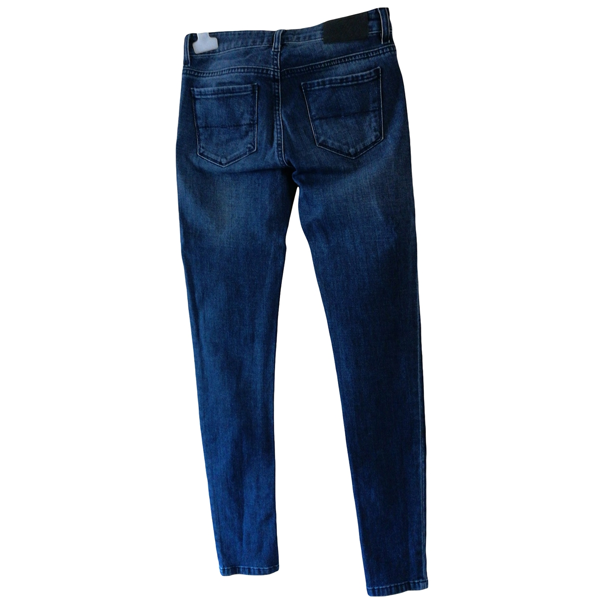 Fay \N Blue Denim - Jeans Jeans for Women 39 FR