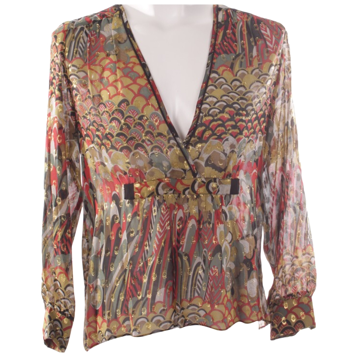 Zadig & Voltaire \N Multicolour Silk  top for Women XS International