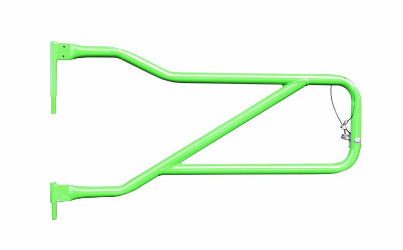 Steinjager J0048312 Doors, Tubular Wrangler JL 2018 to Present Neon Green Front Doors