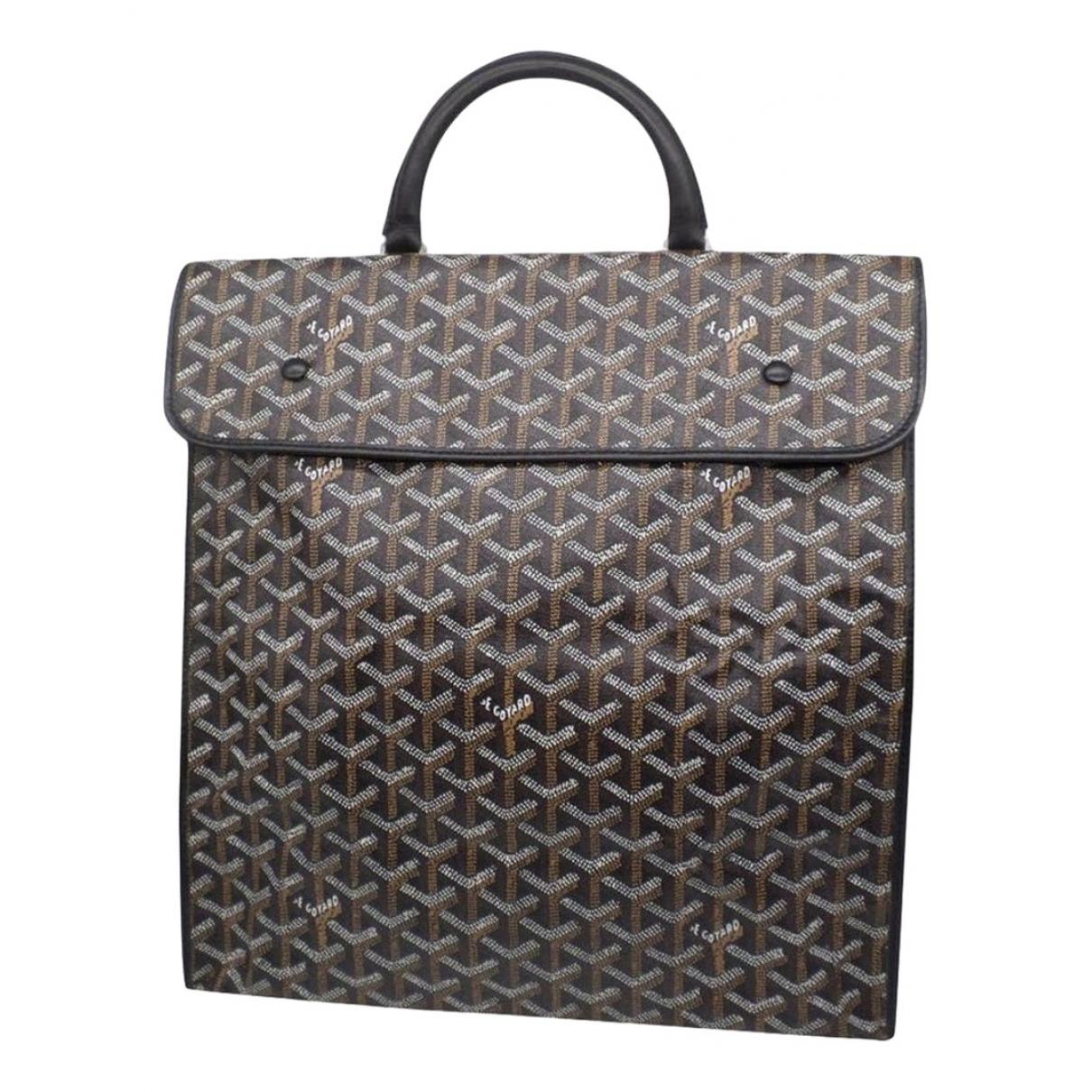 Goyard Steamer Black Cloth Travel bag for Women \N