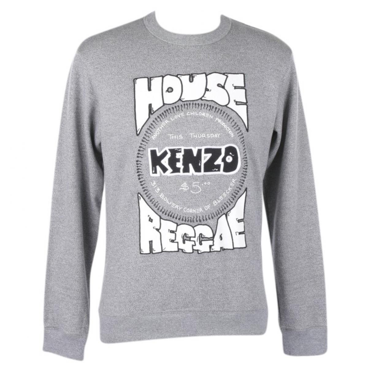 Kenzo \N Grey Cotton Knitwear for Women S International