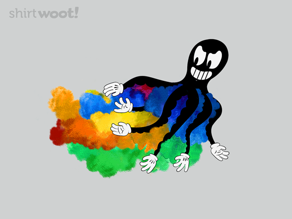 Color Attack T Shirt
