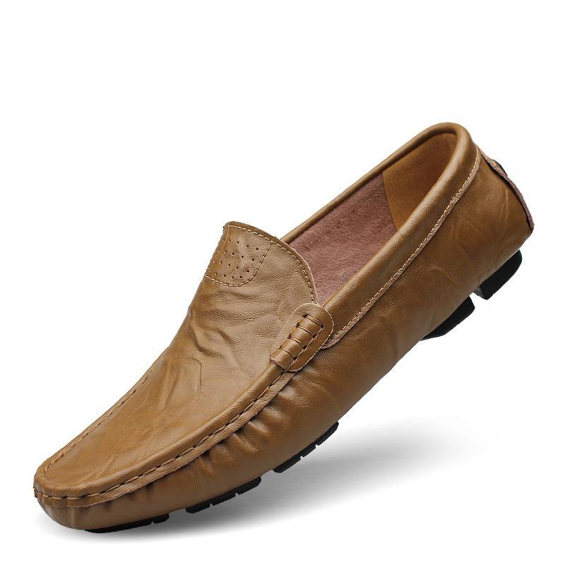 Ericdress Plain Slip-On Men's Loafers