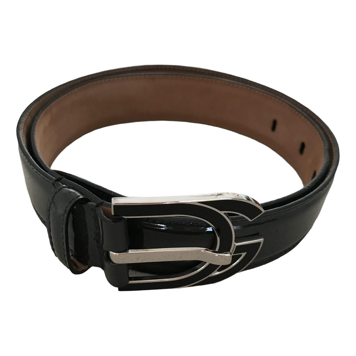 Dolce & Gabbana \N Grey Patent leather belt for Women 75 cm