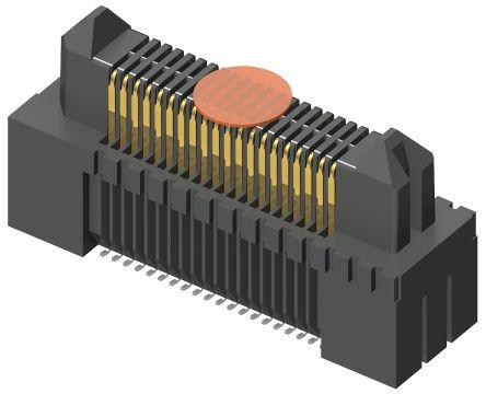 Samtec , Edge Rate ERM5, 100 Way, 2 Row, Vertical PCB Header