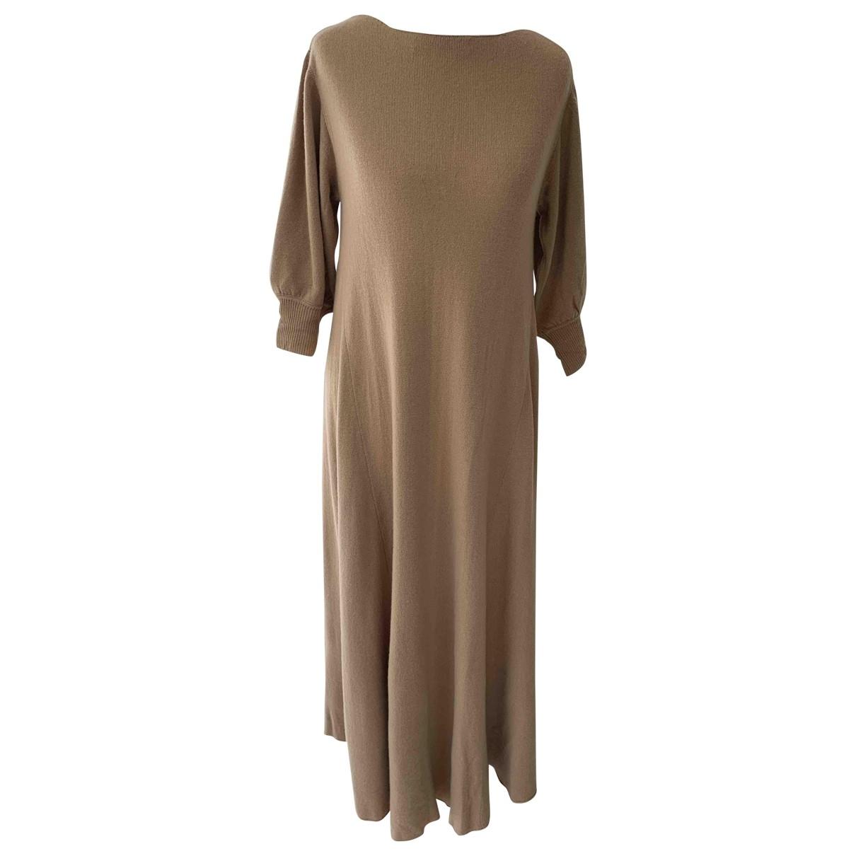 Ryan Roche \N Beige Cashmere dress for Women S International