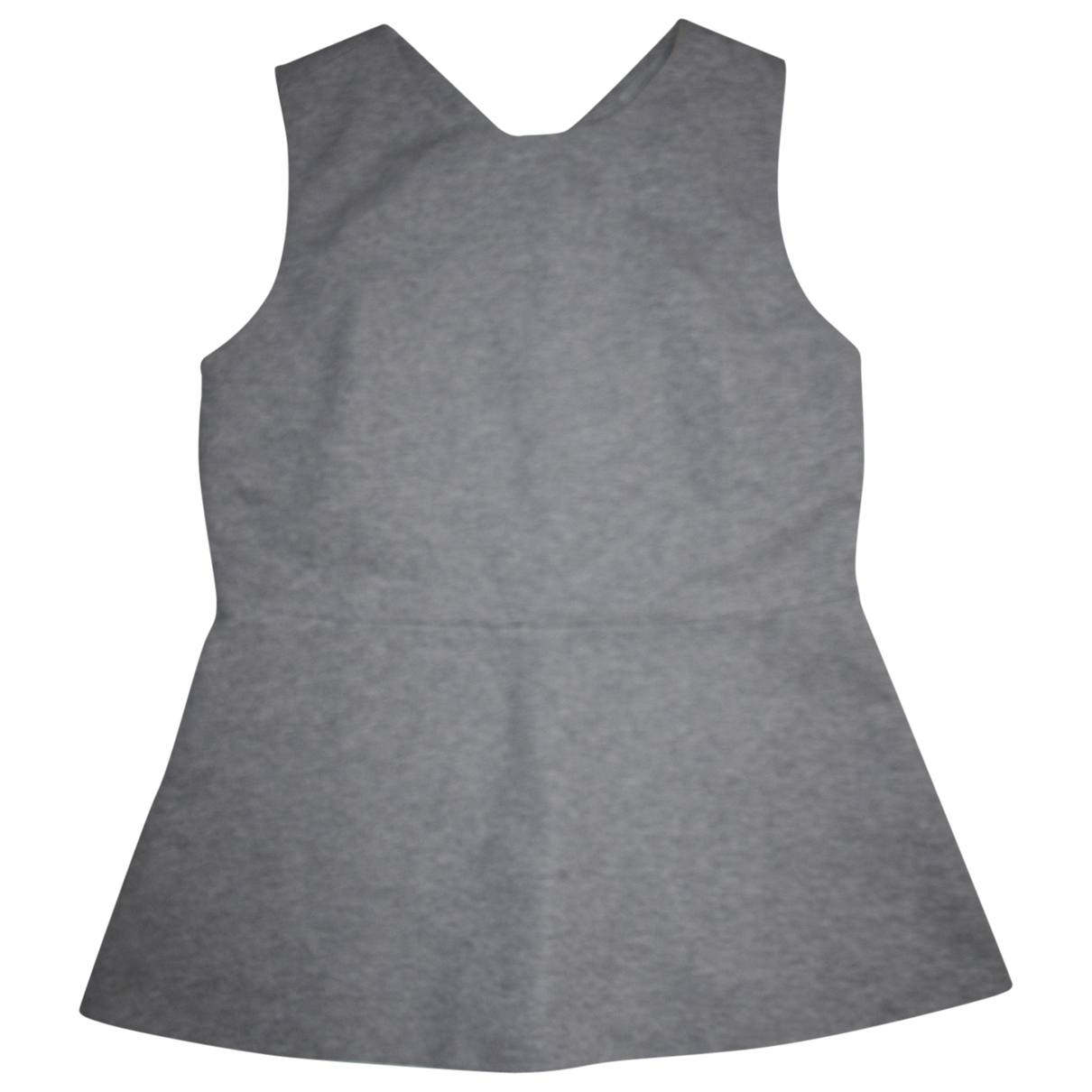 Cos \N Grey Cotton  top for Women M International