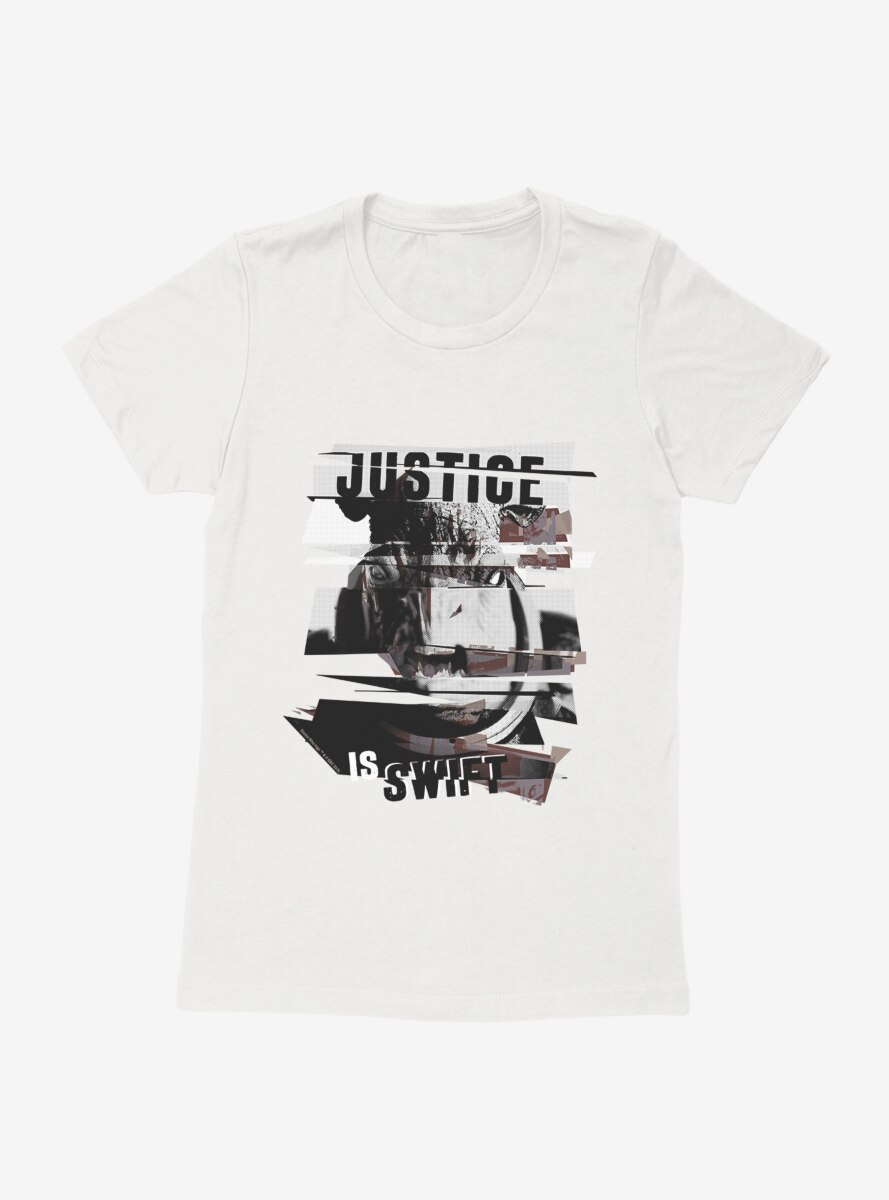 Doctor Who The Judoon Justice Is Swift Womens T-Shirt