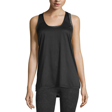 Xersion Womens Performance Tank Top, Large , Black
