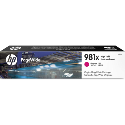 HP 981X L0R10A Original Magenta PageWide Ink Cartridge High Yield