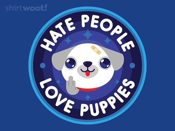 Love Puppies T Shirt