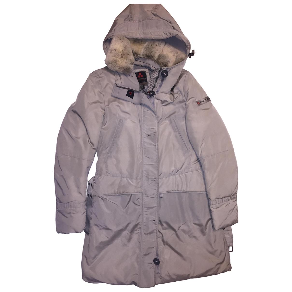 Peuterey \N Grey coat for Women 46 IT