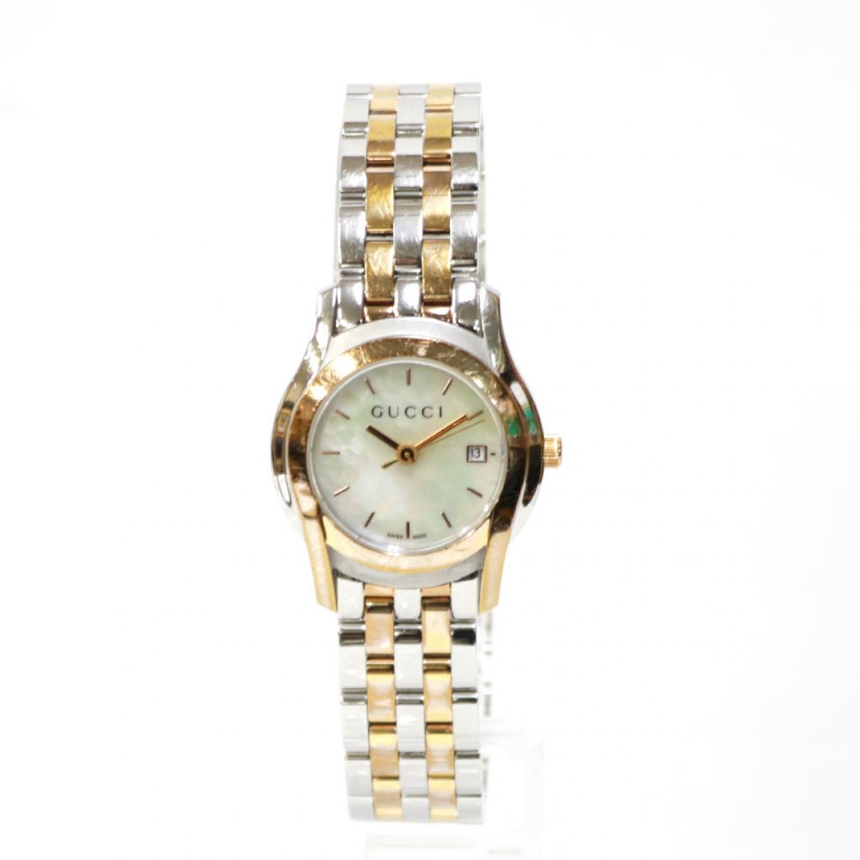 Gucci \N Gold Steel watch for Women \N
