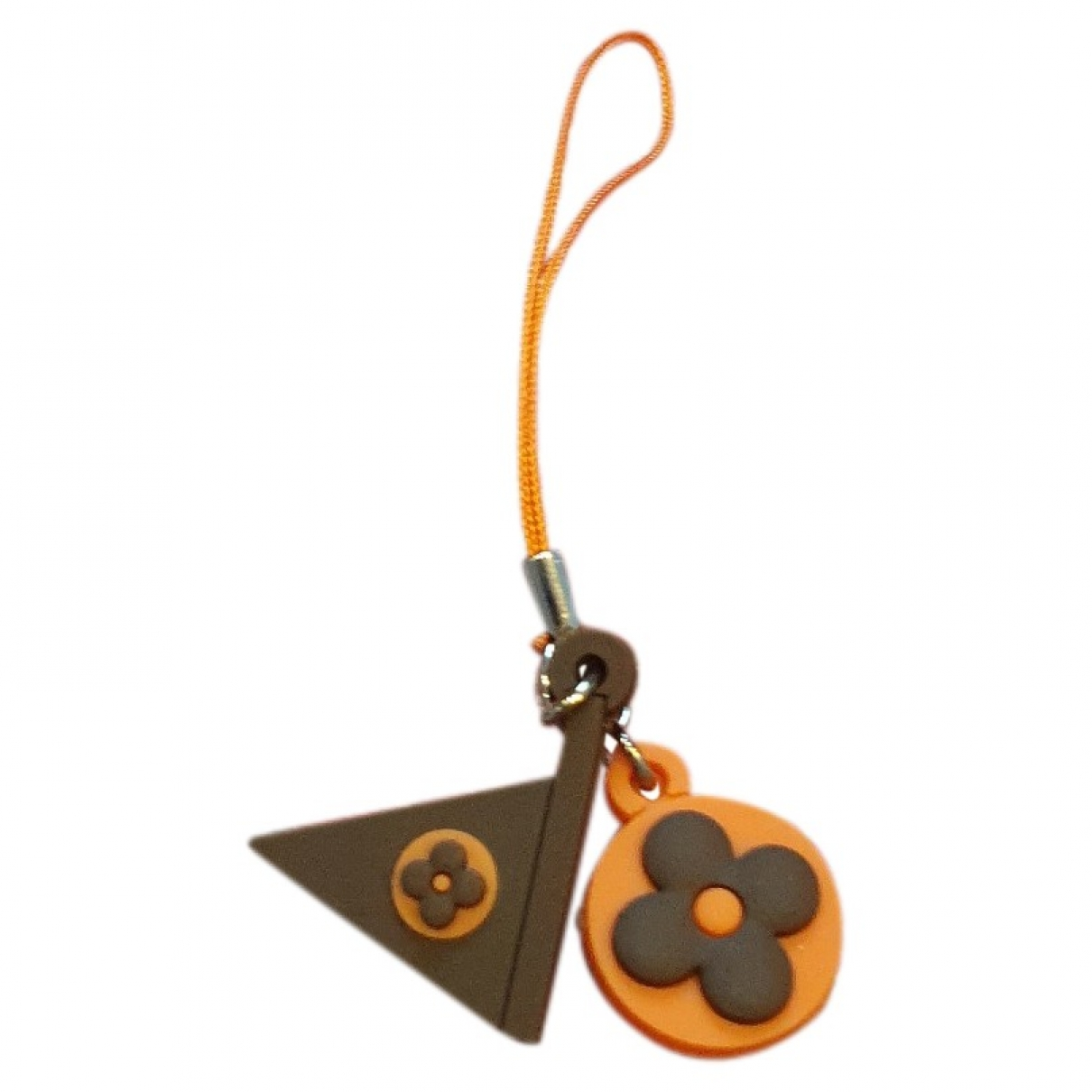 Louis Vuitton \N Brown Cloth Phone charms for Women \N
