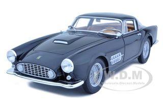 Ferrari 410 Superamerica Black 1/18 Diecast Car Model by Hotwheels
