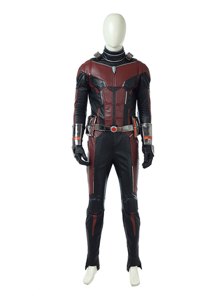 Milanoo Marvel Comics Ant-Man And The Wasp AntMan Scott Lang Halloween Cosplay Costume