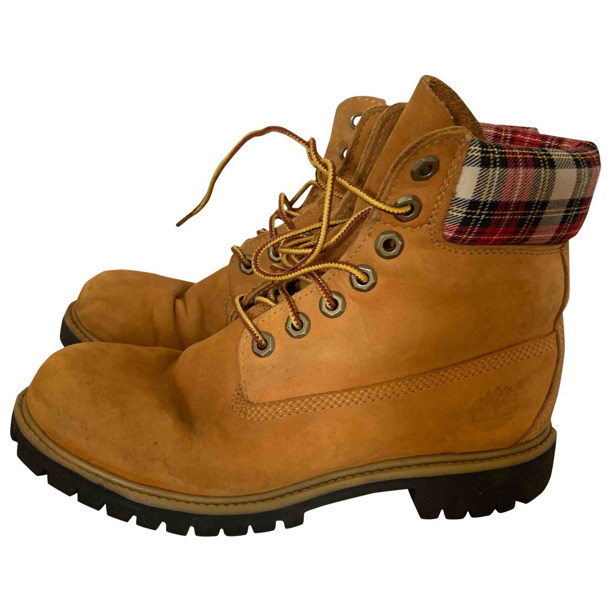Timberland \N Leather Boots for Men 7 US