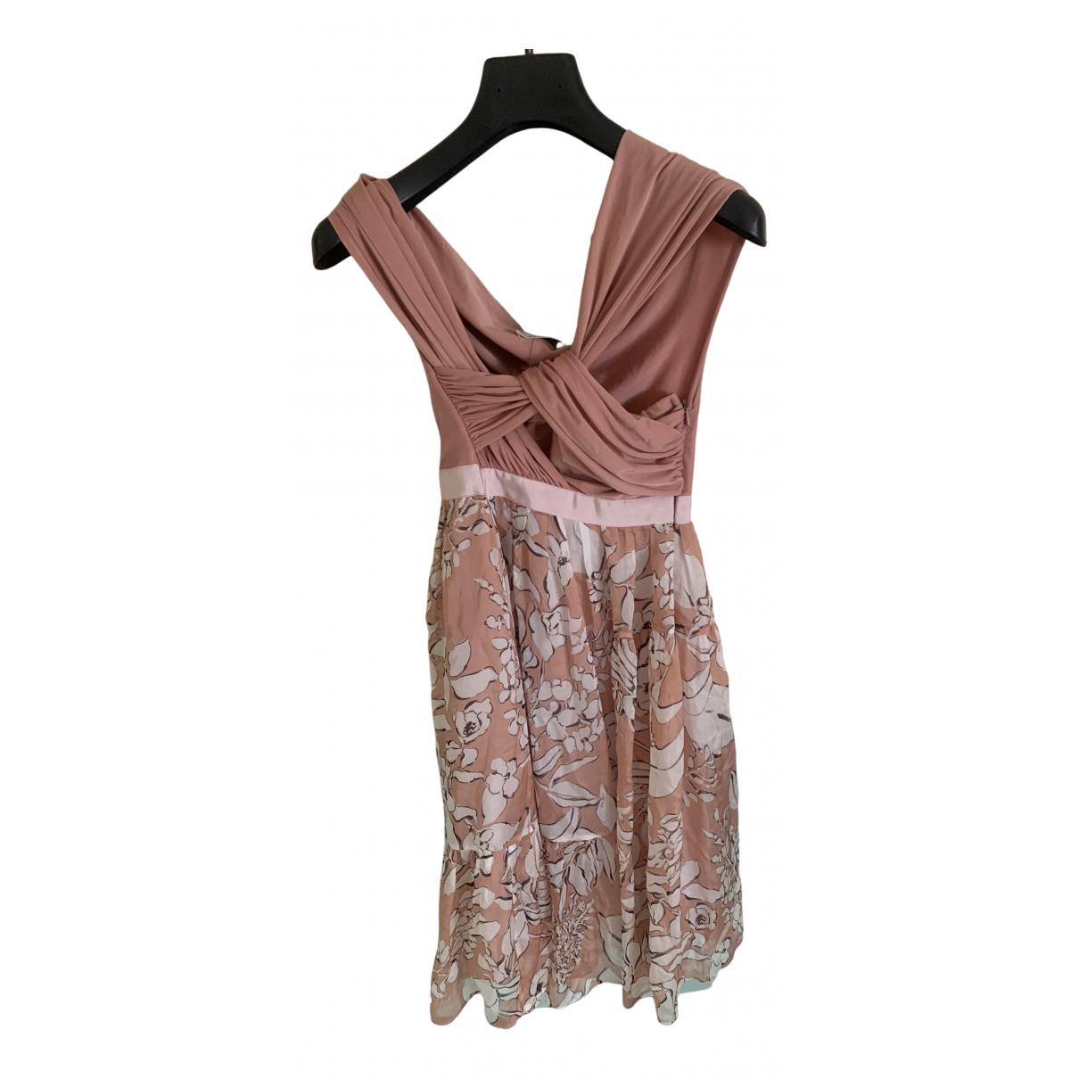 Pinko \N Pink Silk dress for Women 40 IT