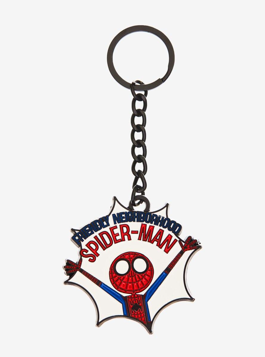 Marvel Spider-Man Friendly Neighborhood Keychain - BoxLunch Exclusive
