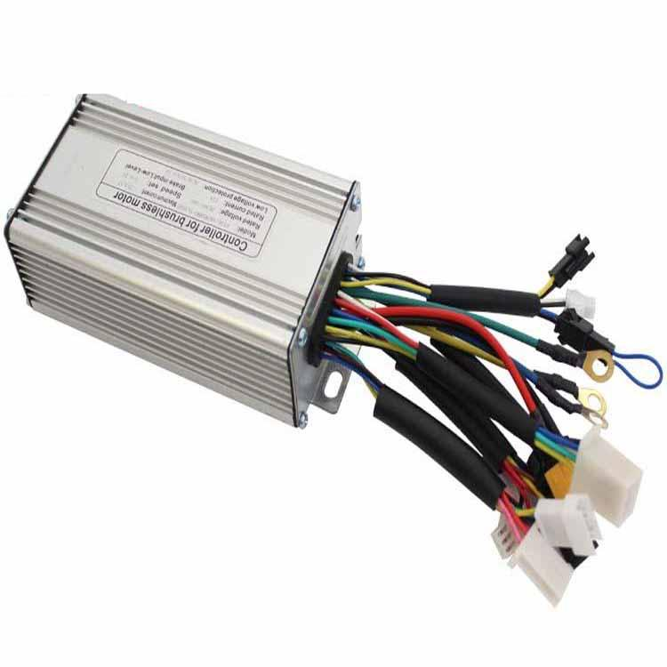 RISUNMOTOR 36V/48V 500W 9MOSFET 25A Brushless DC Motor Sine Wave Imitation Torque Controller For Electric Bike Electric