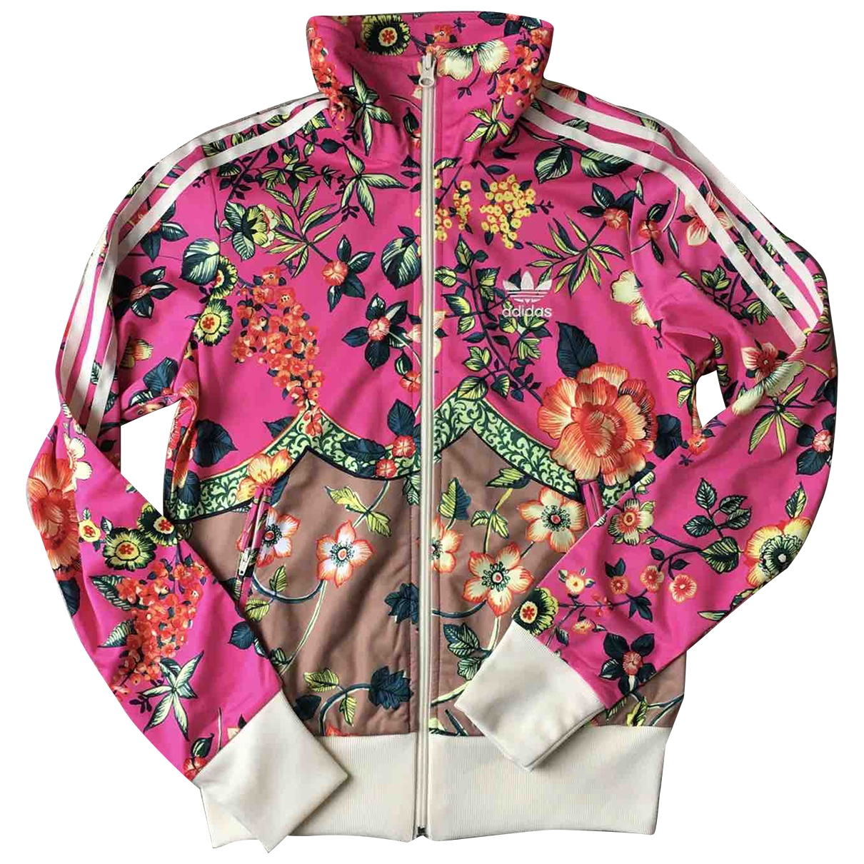 Adidas \N Pink jacket for Women 38 IT