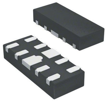 ON Semiconductor NL3S22UHMUTAG , Audio Switch IC DPDT 480Mbit/s, 2.7 → 3.6 V dc, 10-Pin UQFN (3000)