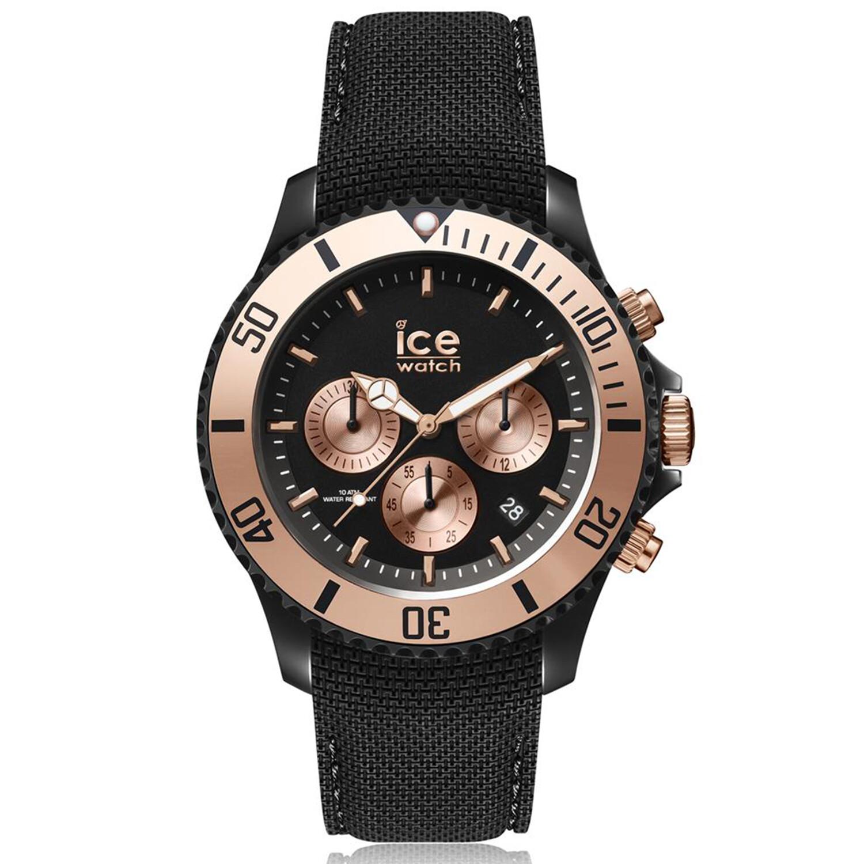 Ice-Watch Men's Urban 016307 Black Silicone Quartz Fashion Watch
