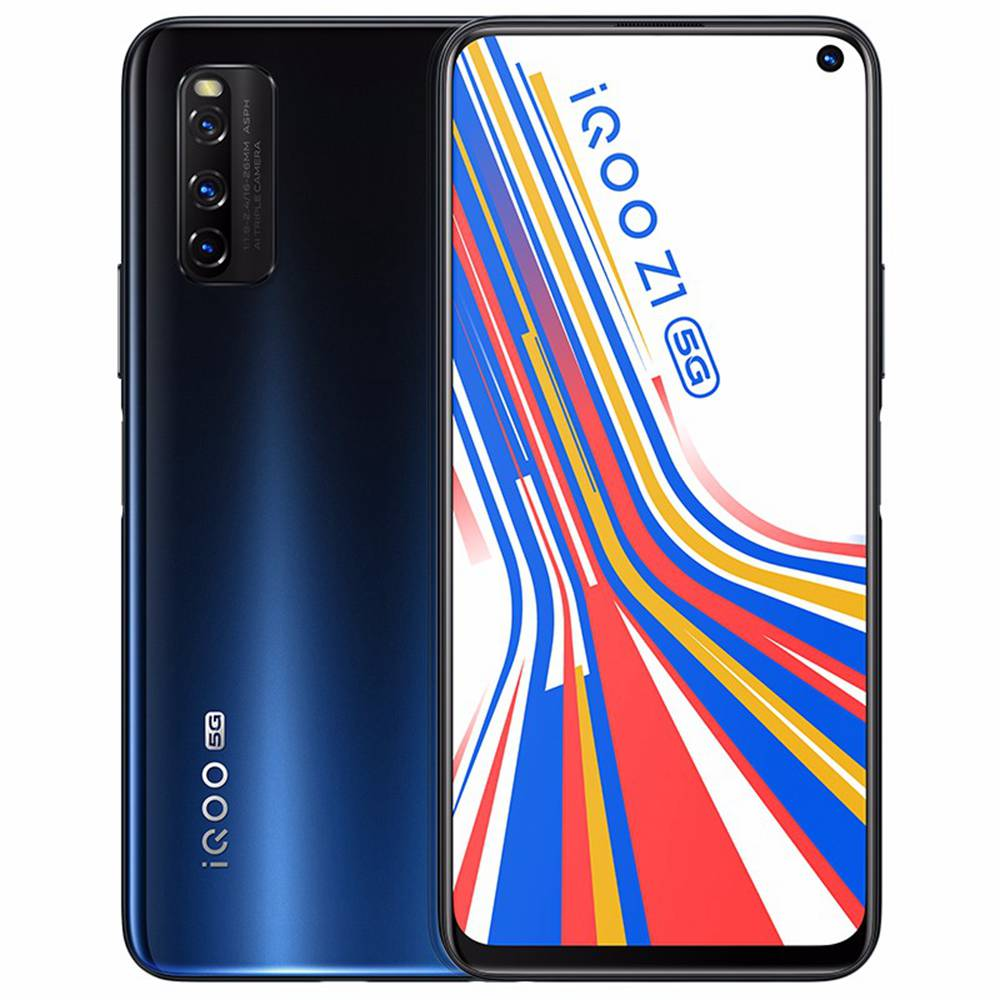 Vivo iQOO Z1 6.57 Inch 144Hz MTK 1000 Plus 8GB 256GB Blue