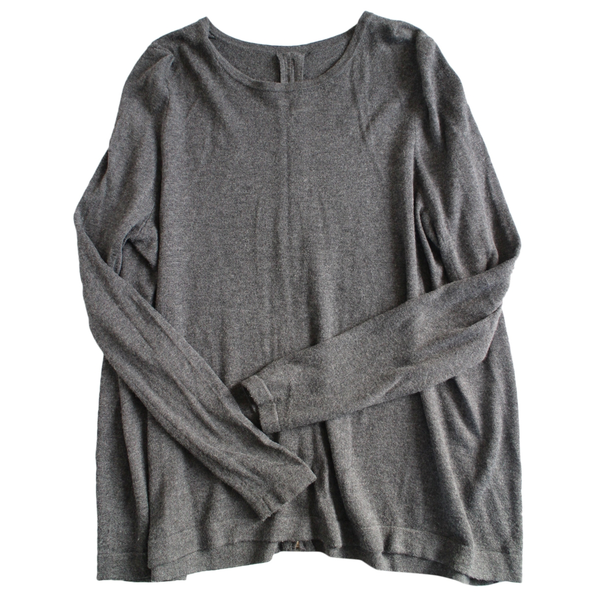 Hôtel Particulier \N Grey Wool Knitwear for Women 38 FR