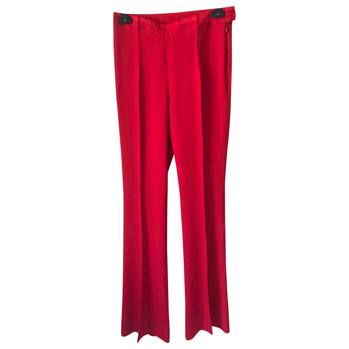 Patrizia Pepe \N Red Trousers for Women 40 IT