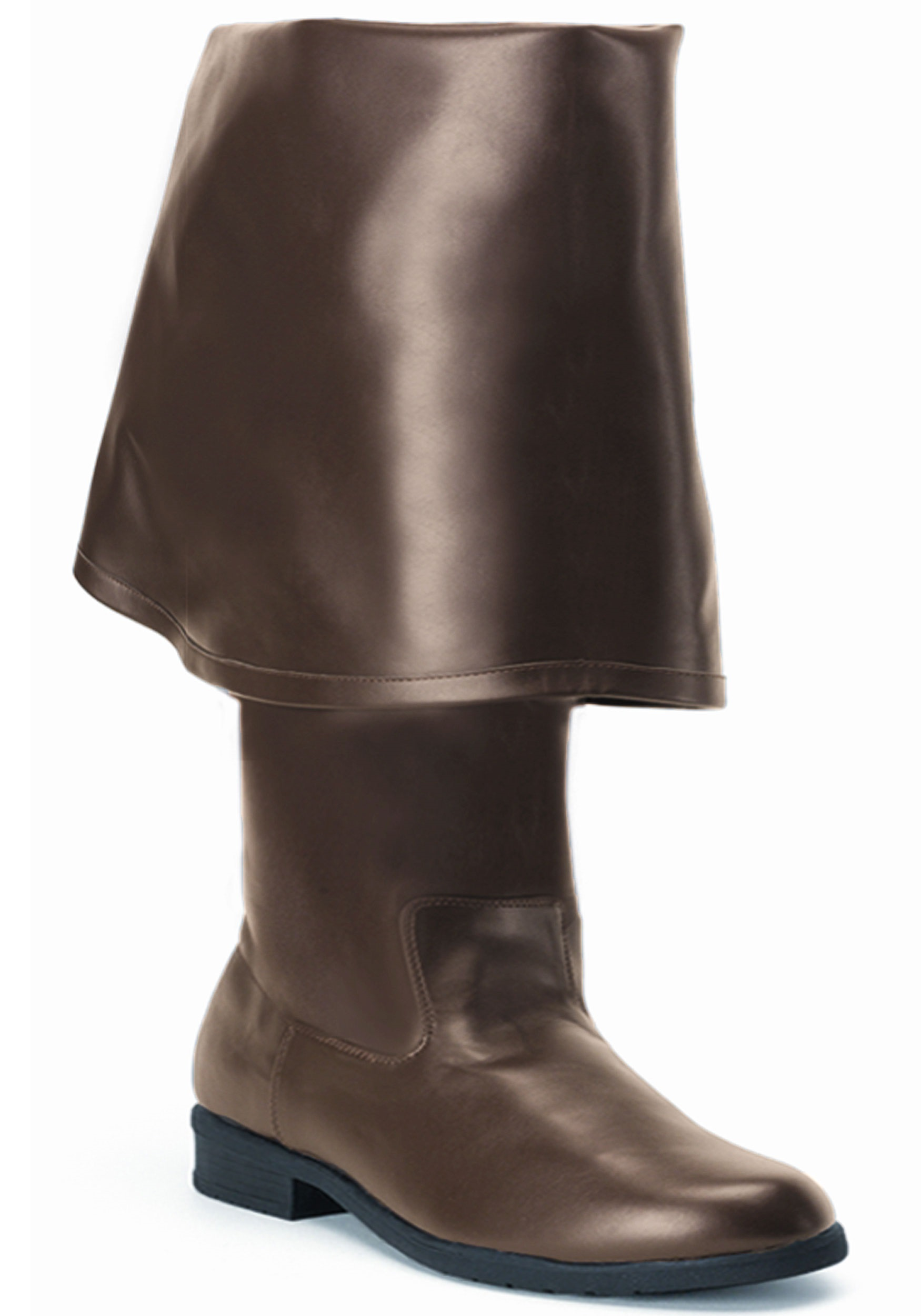 Realistic Brown Pirate Costume Boots