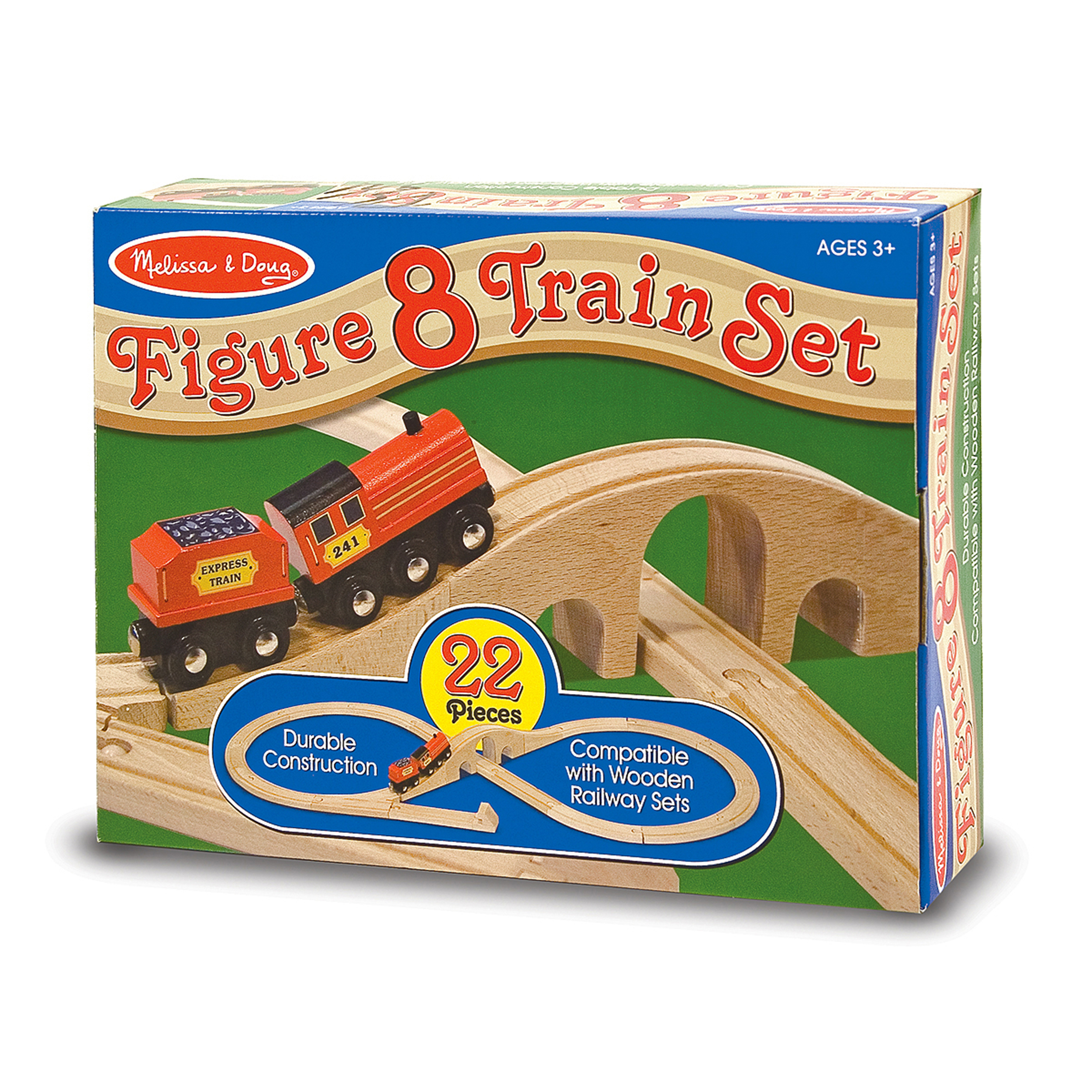 Melissa & Doug Figure 8 Train Set