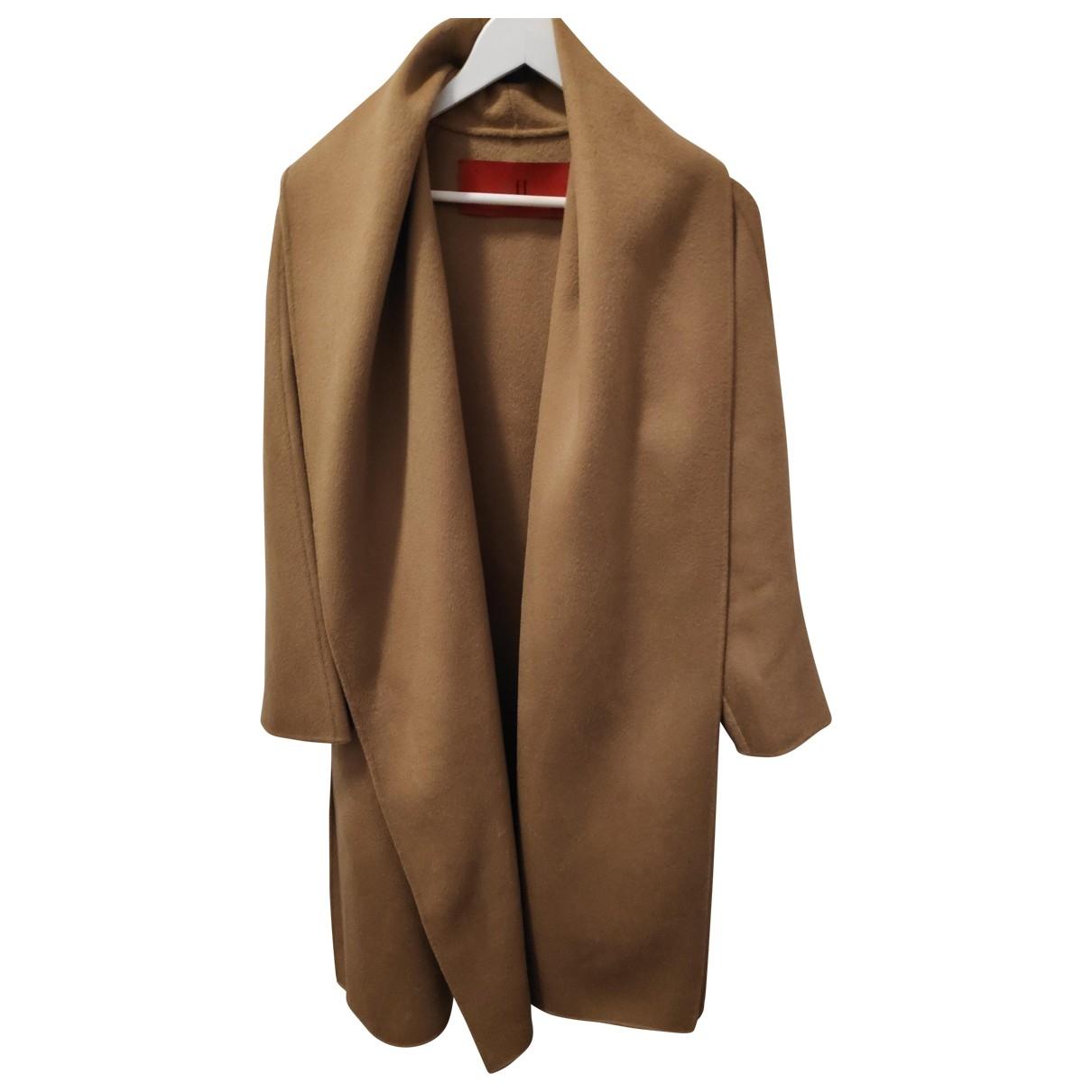 Carolina Herrera \N Camel Wool coat for Women S International