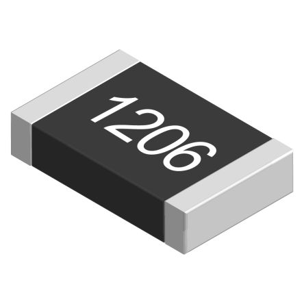 RS PRO 90.9kΩ, 1206 (3216M) Thick Film SMD Resistor ±1% 0.25W (5000)