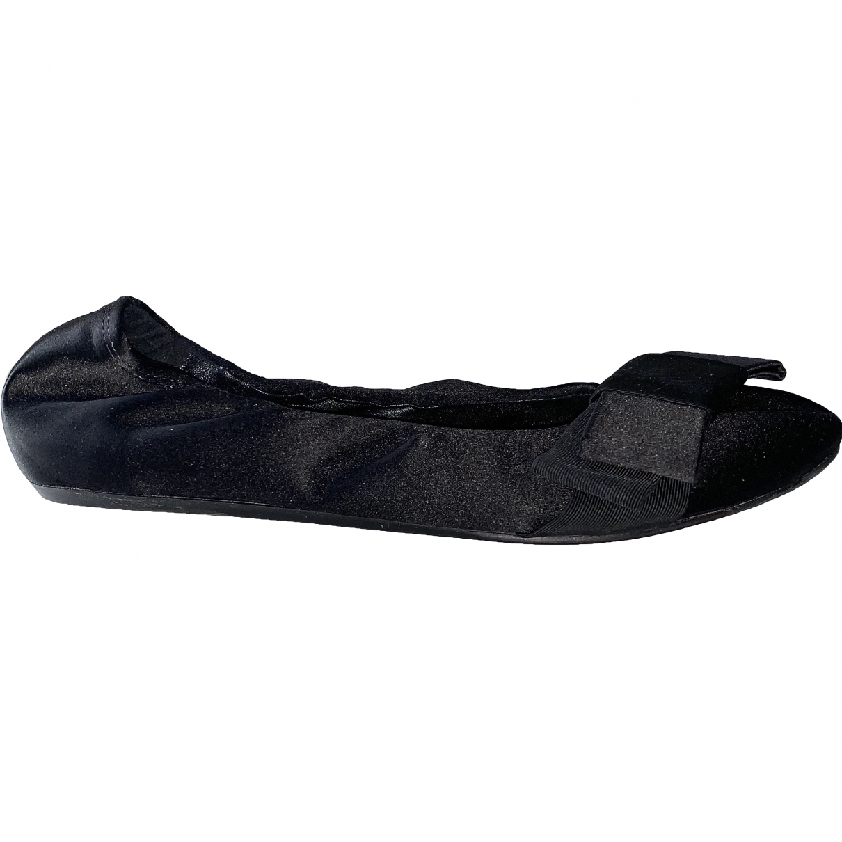 Lanvin \N Black Ballet flats for Women 38 EU