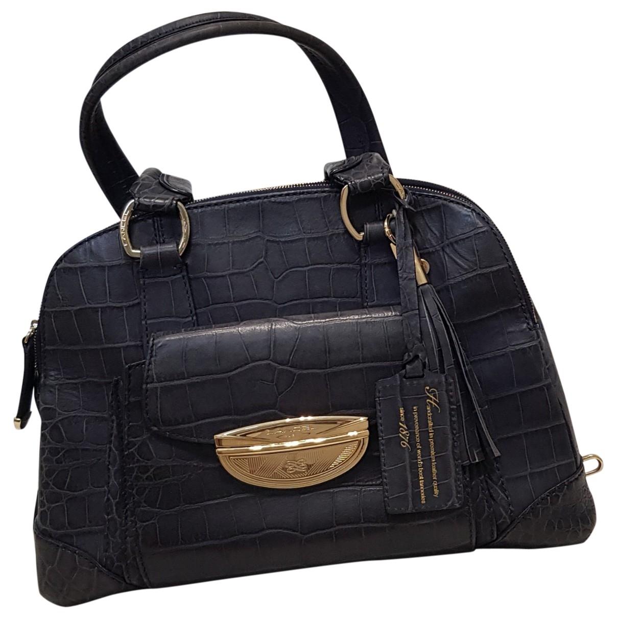 Lancel Adjani Blue Leather handbag for Women \N