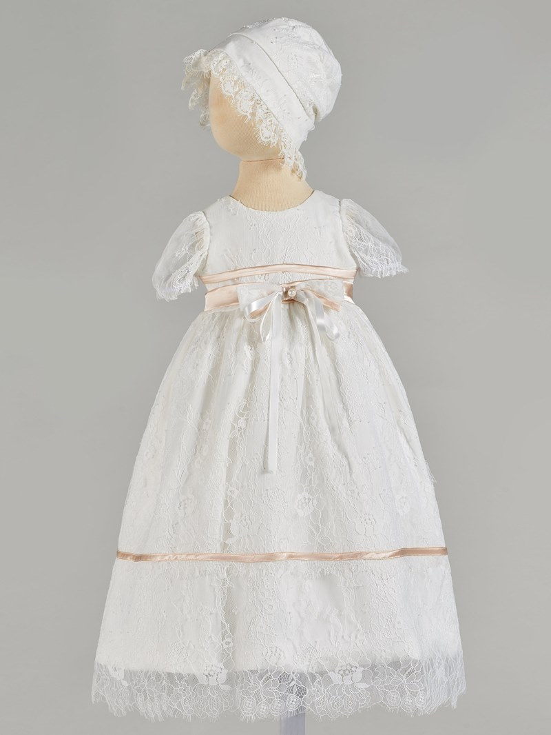 Ericdress A Line Lace Baby Girl's Christening Gown