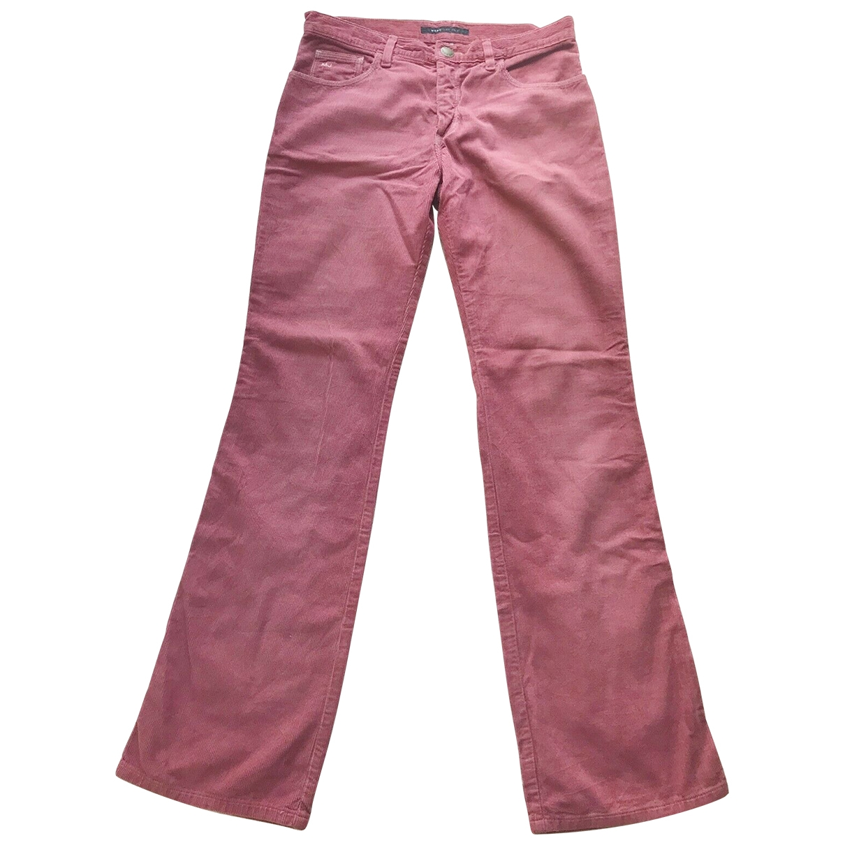 Marc Jacobs \N Pink Cotton Jeans for Women 30 US