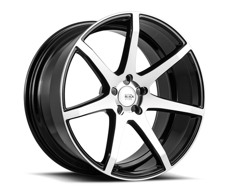 Savini BM10-22090530M1884 di Forza  Machined Black with Black Lip BM10 Wheel 22x9.0 5x130 18mm