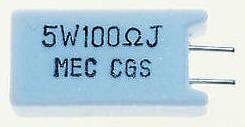 TE Connectivity 4.7kΩ Metal Oxide Resistor 5W ±5% SQMR54K7J (5)