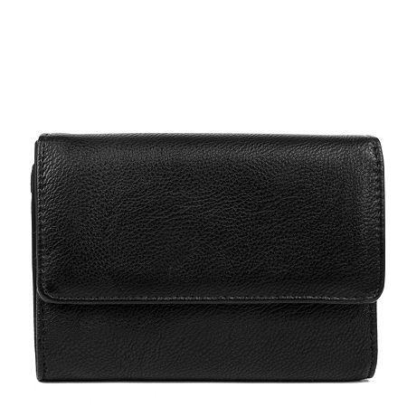 Mundi Amsterdam RFID Blocking Indexer Wallet, One Size , Black