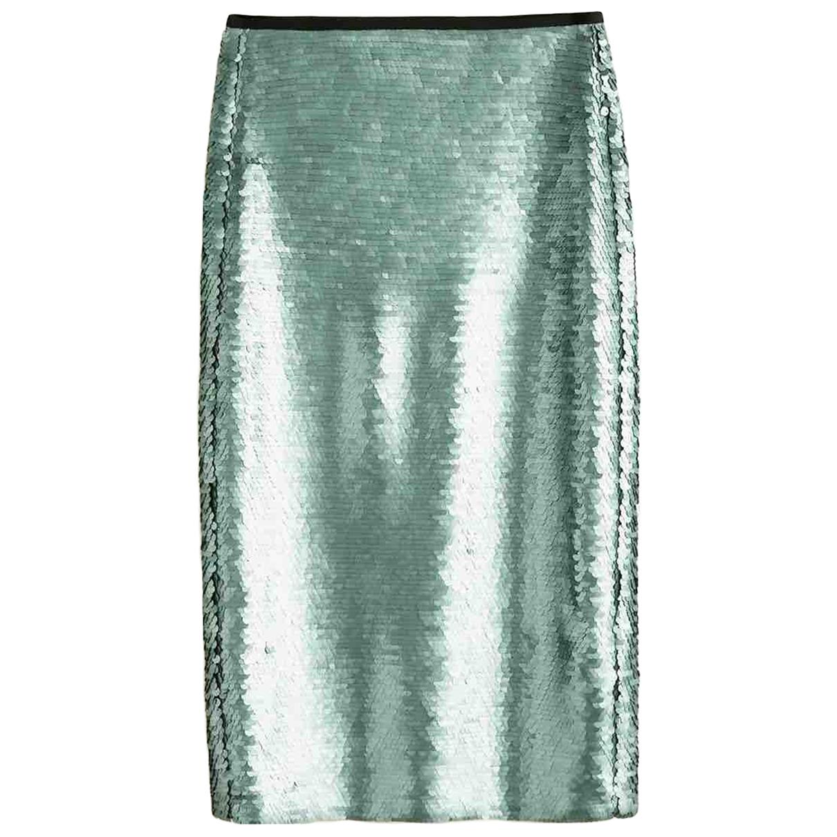 Mango \N Green skirt for Women 40 FR