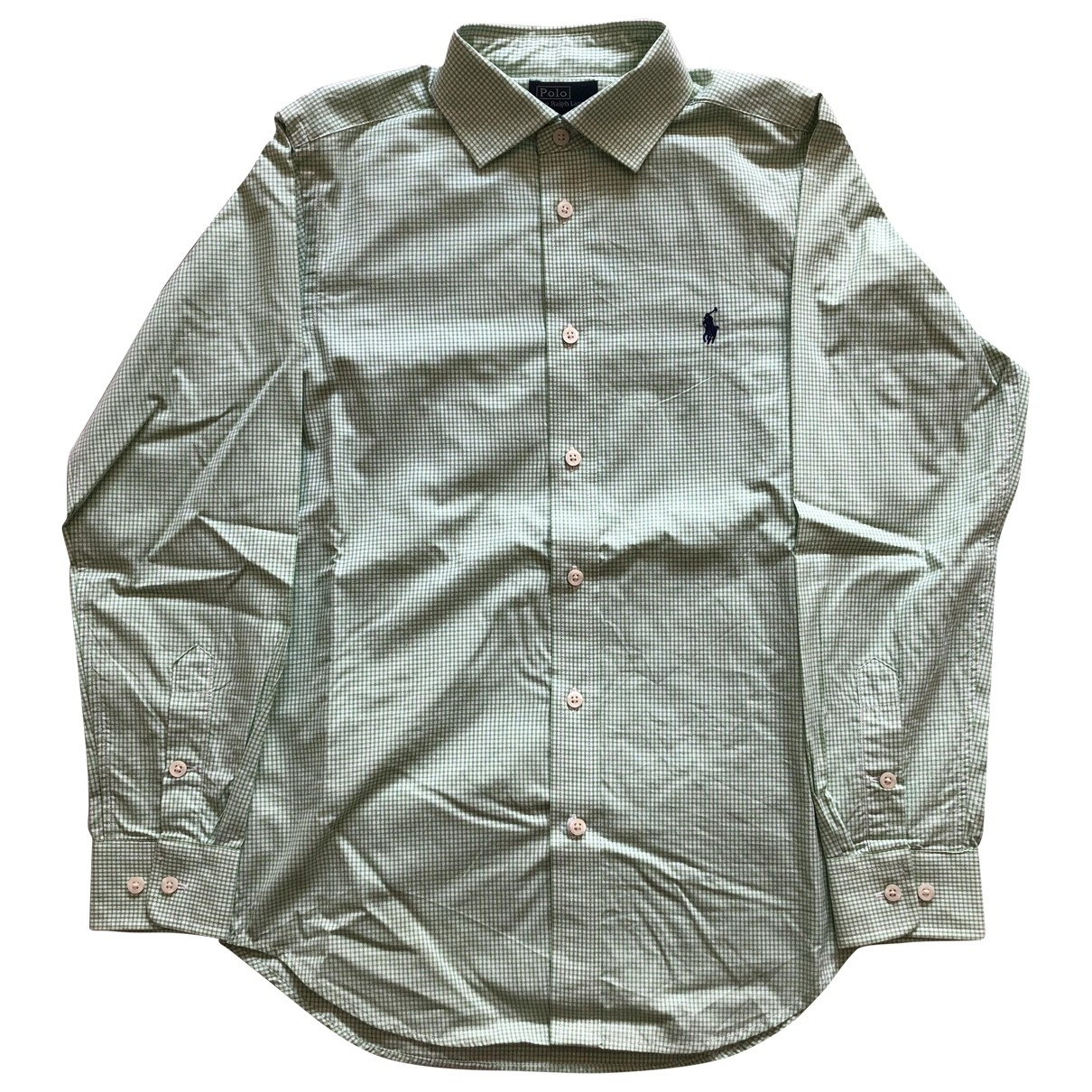 Polo Ralph Lauren \N Green Cotton  top for Kids 14 years - S UK