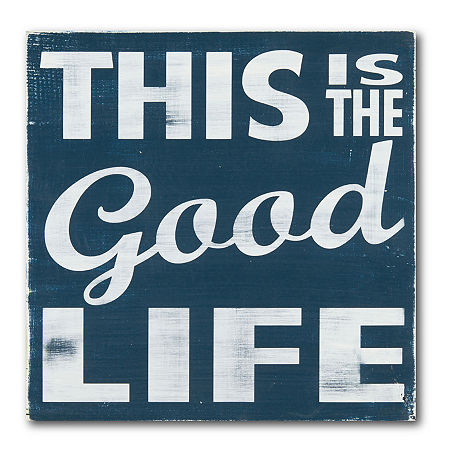 Courtside Market The Good Life Canvas Art, One Size , Multiple Colors