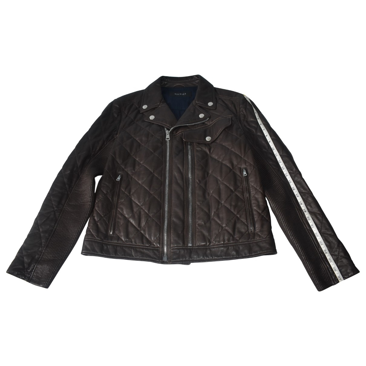 Gucci \N Brown Leather jacket  for Men 52 IT