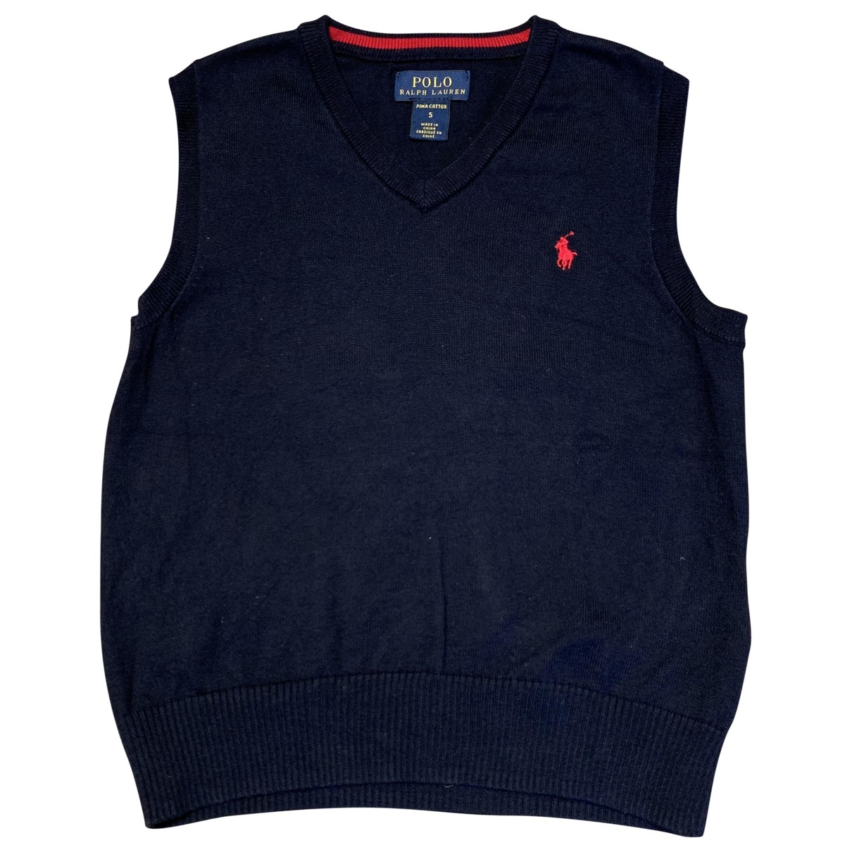 Polo Ralph Lauren \N Navy Cotton Knitwear for Kids 5 years - up to 108cm FR